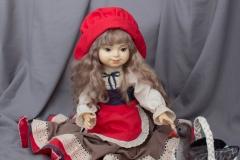 Красная шапочка. Коллекционная кукла
