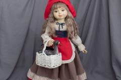 Красная шапочка. Кукла ручной работы