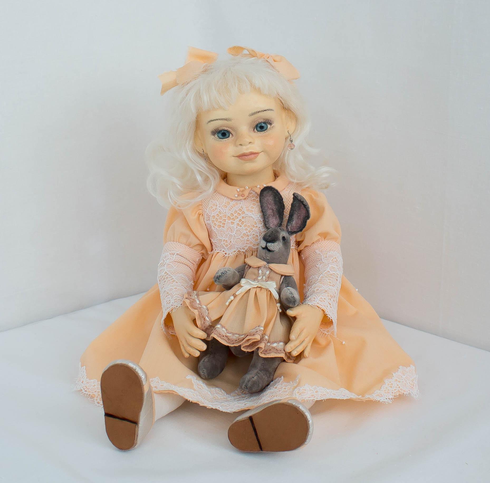 Альбина. Интерьерная кукла ручной работы
