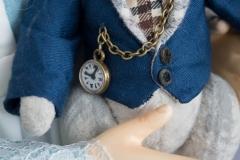 Алиса и Белый Кролик. Коллекционная кукла