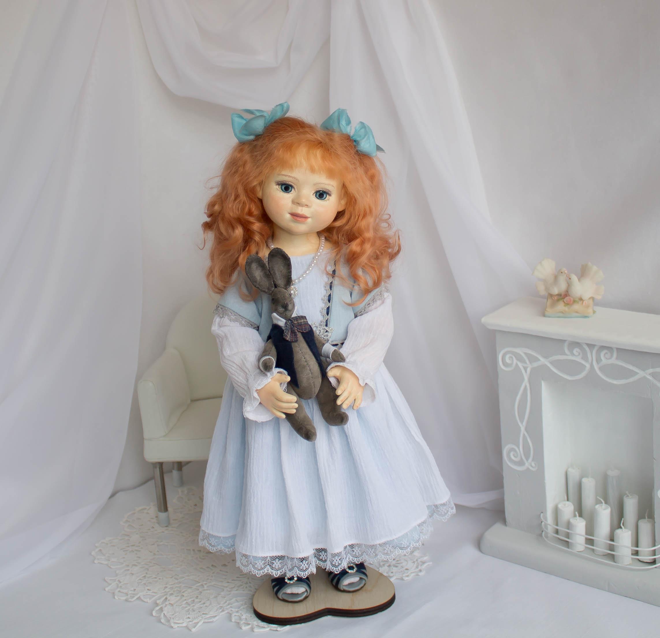 Алиса. Интерьерная кукла ручной работы