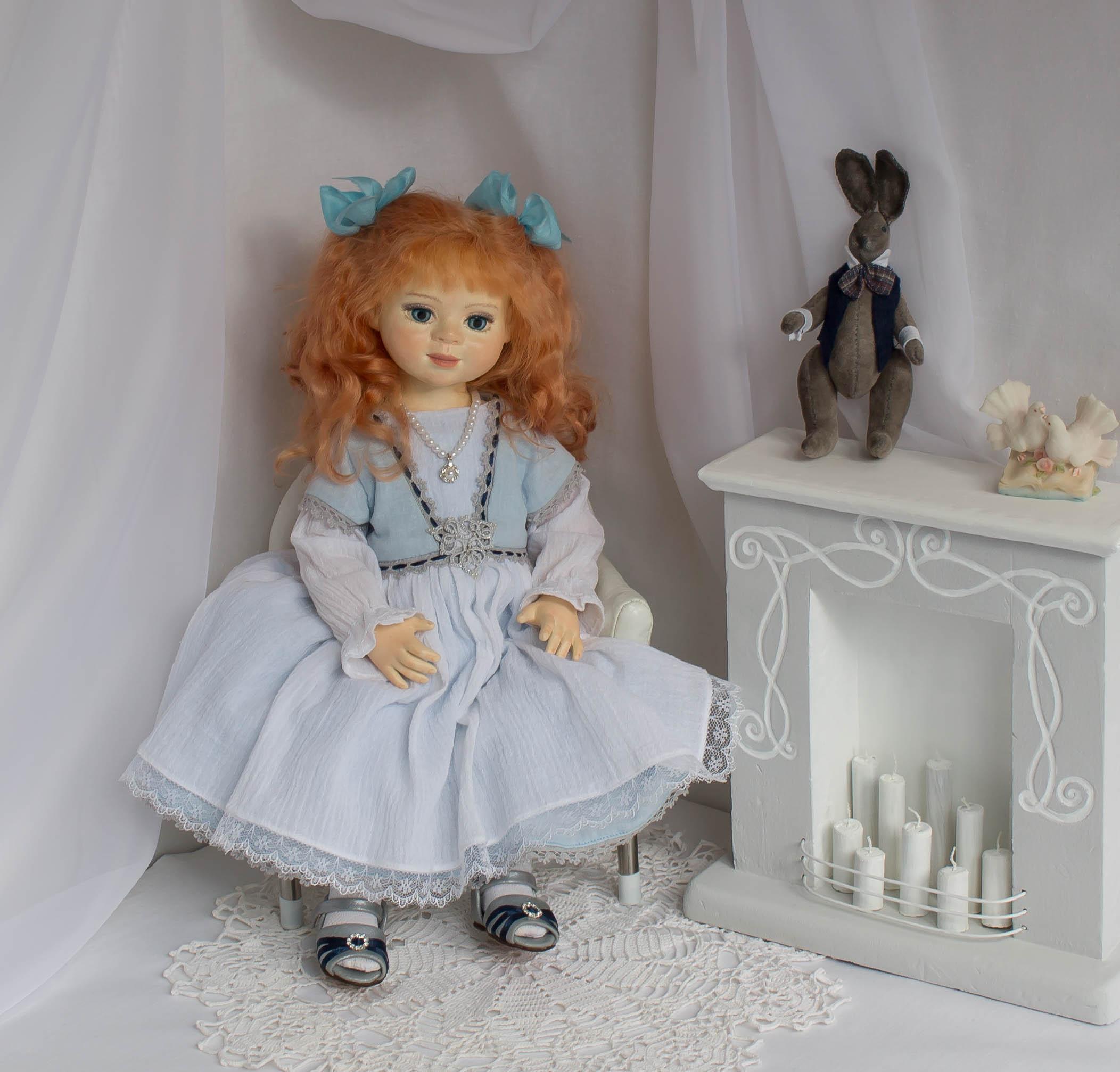 Алиса. Коллекционная кукла.