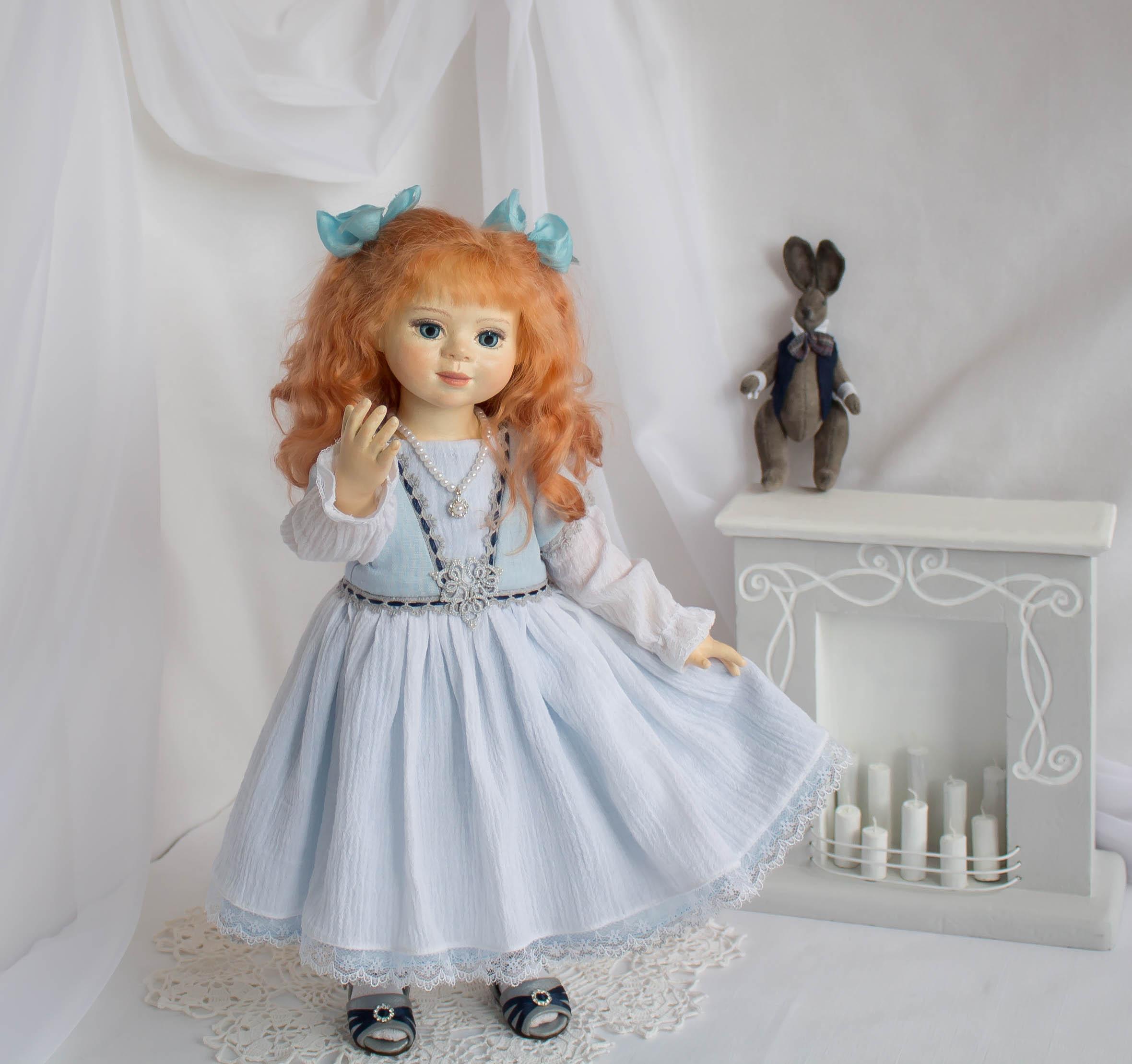 Алиса. Кукла Елены Масякиной