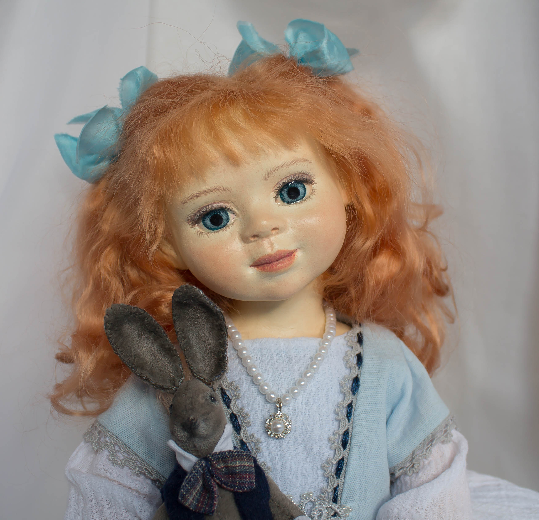 Алиса. Авторская кукла