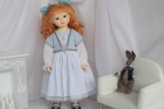 Алиса. Художественная кукла.
