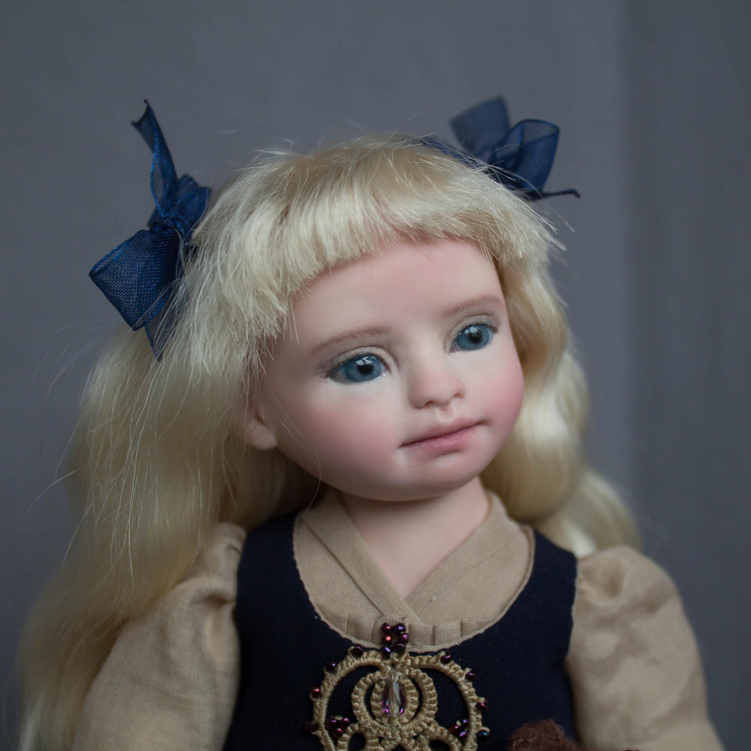 handmade artist doll