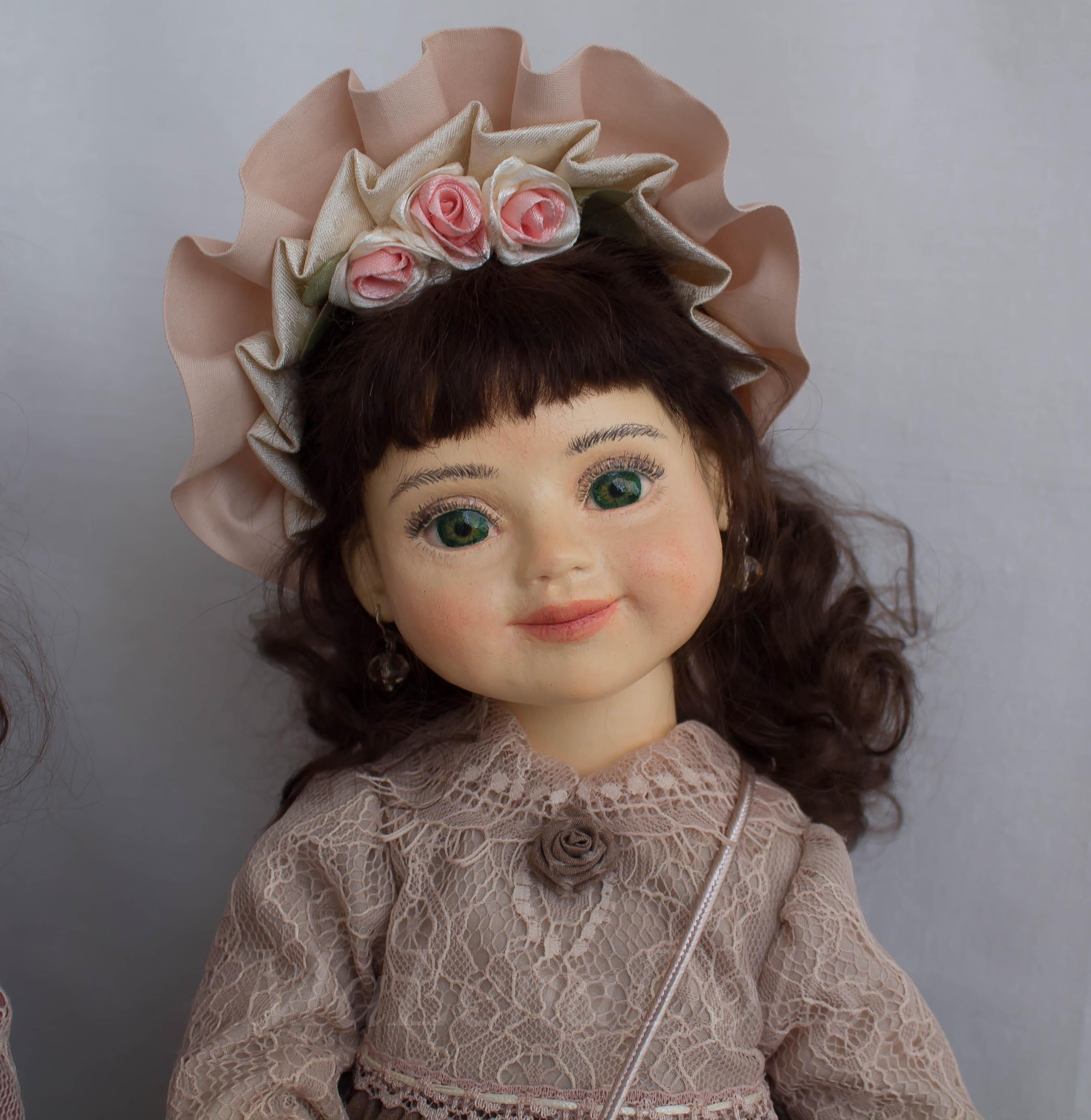 Коллекционная кукла.