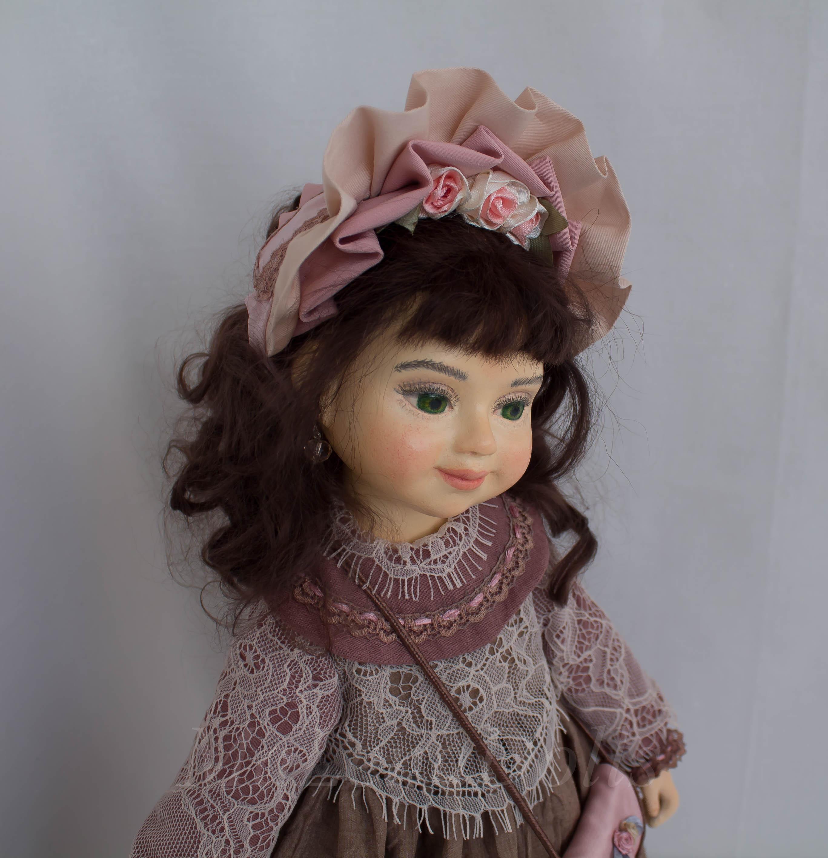 Александра. Интерьерная кукла ручной работы