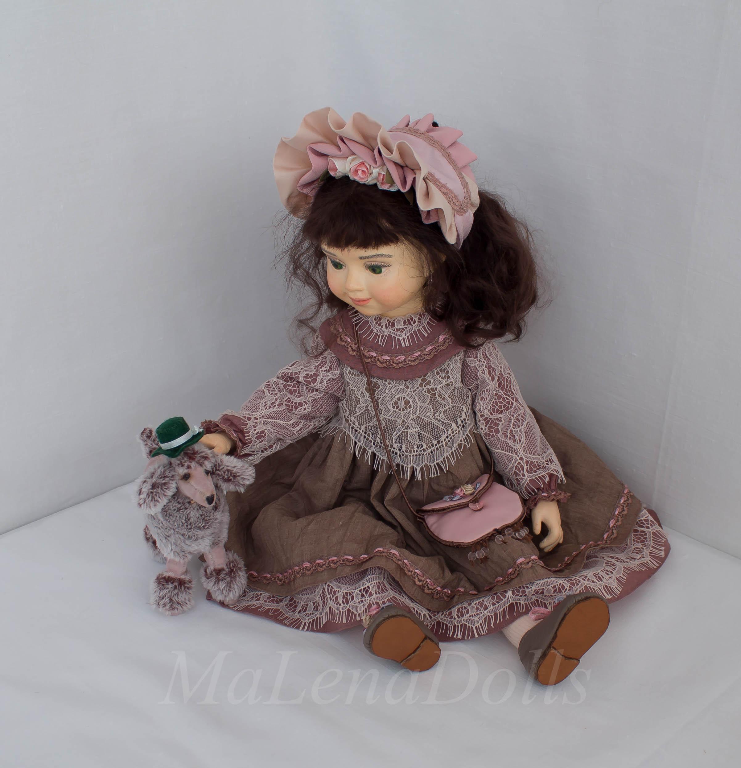 Александра. Авторская кукла для интерьера.