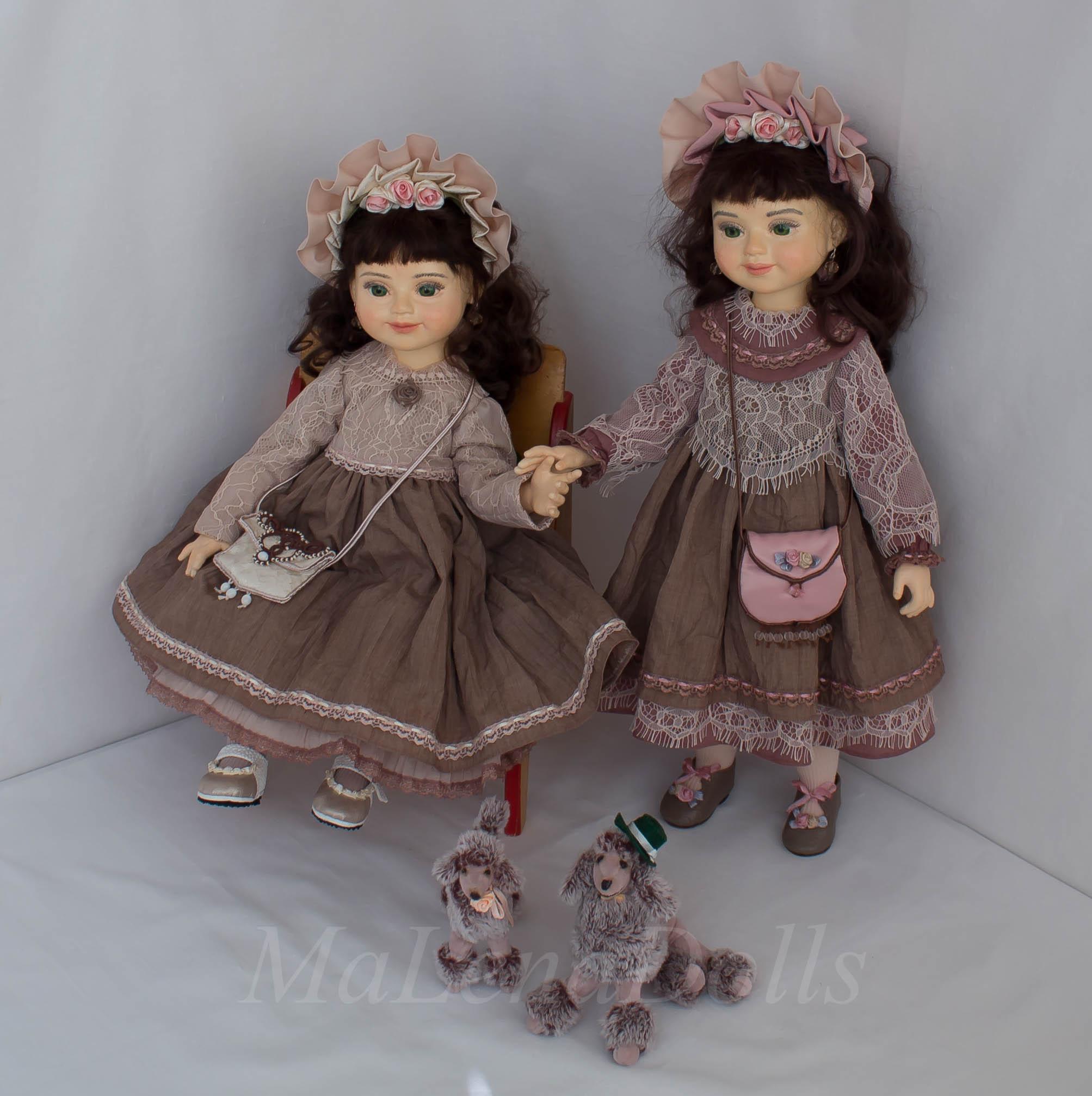 Анастасия и Александра. Куклы сёстры