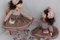 Анастасия и Александра. Интерьерные куклы ручной работы