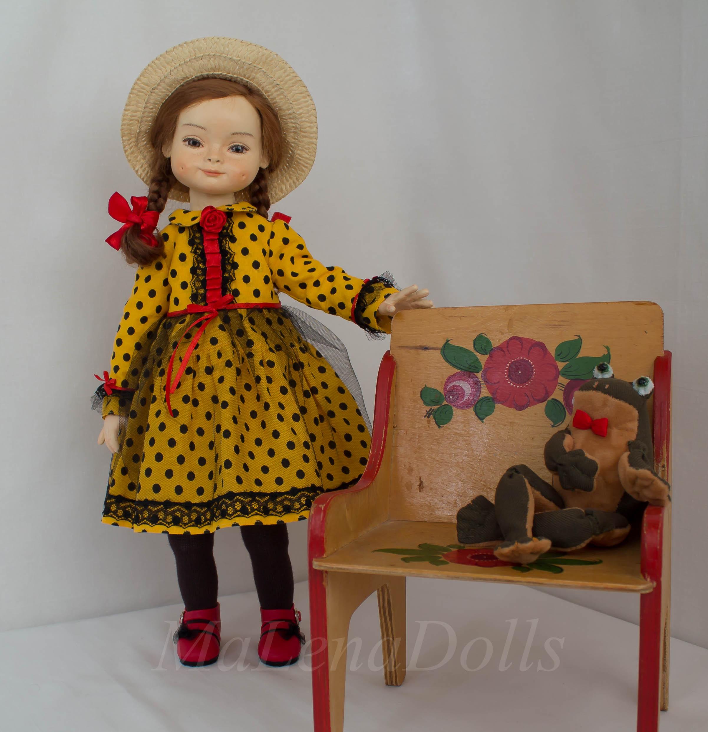 Авторская кукла Елены Масякиной