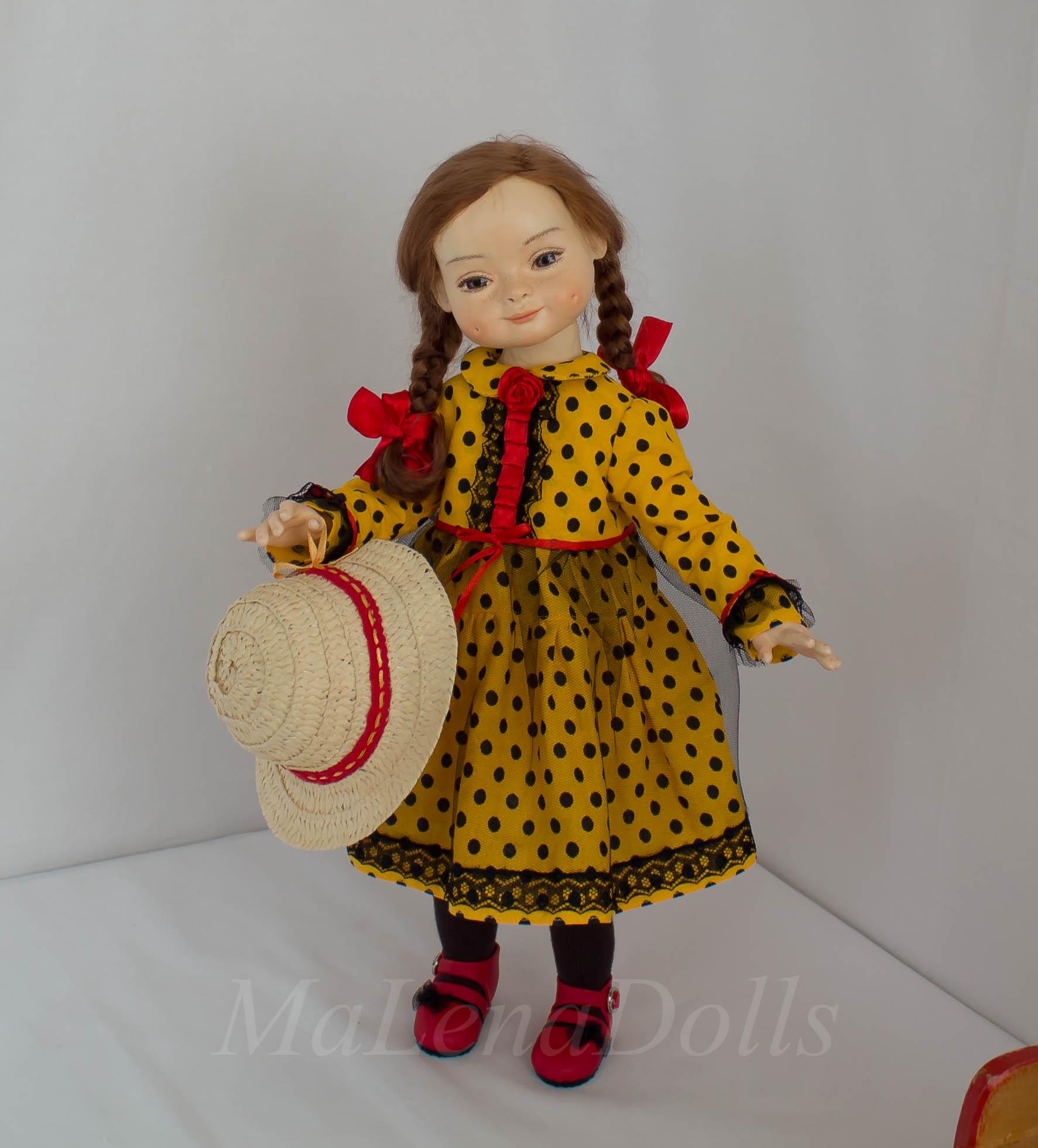 Интерьерная кукла ручной работы Елены Масякиной