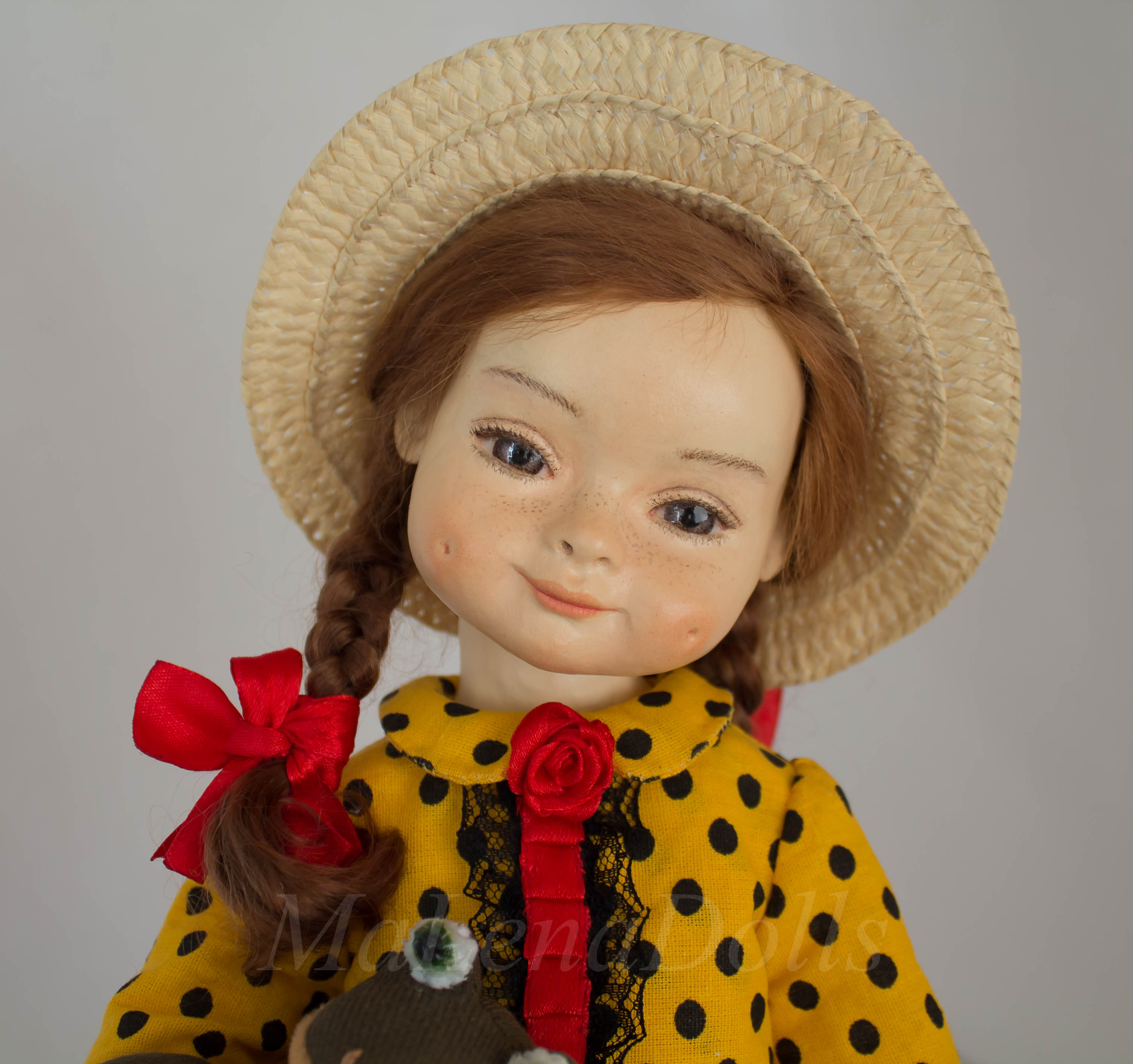 Кристина. Интерьерная кукла MaLenaDolls
