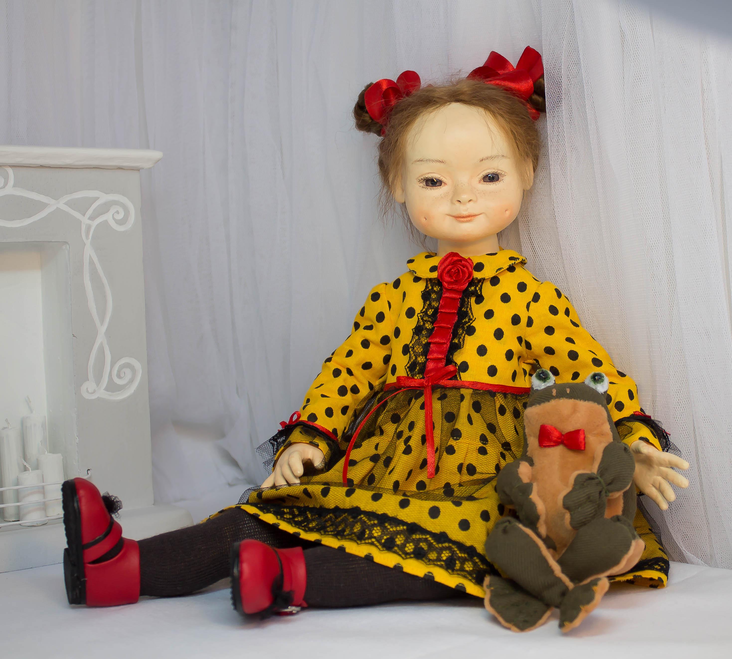 Кристина. Кукла для интерьера