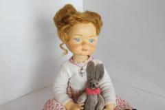 Liza. Author's doll