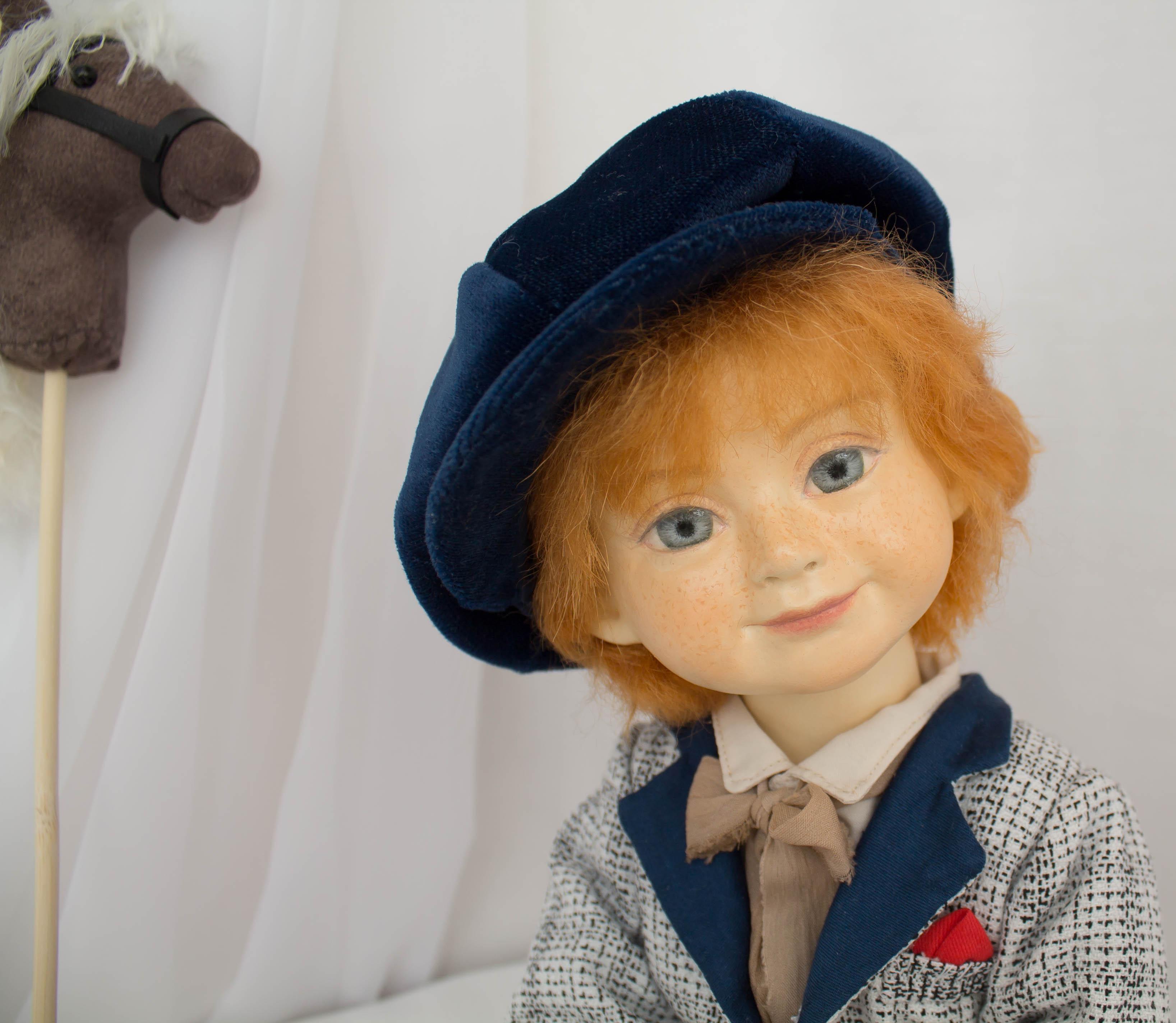 Захар. Коллекционная кукла