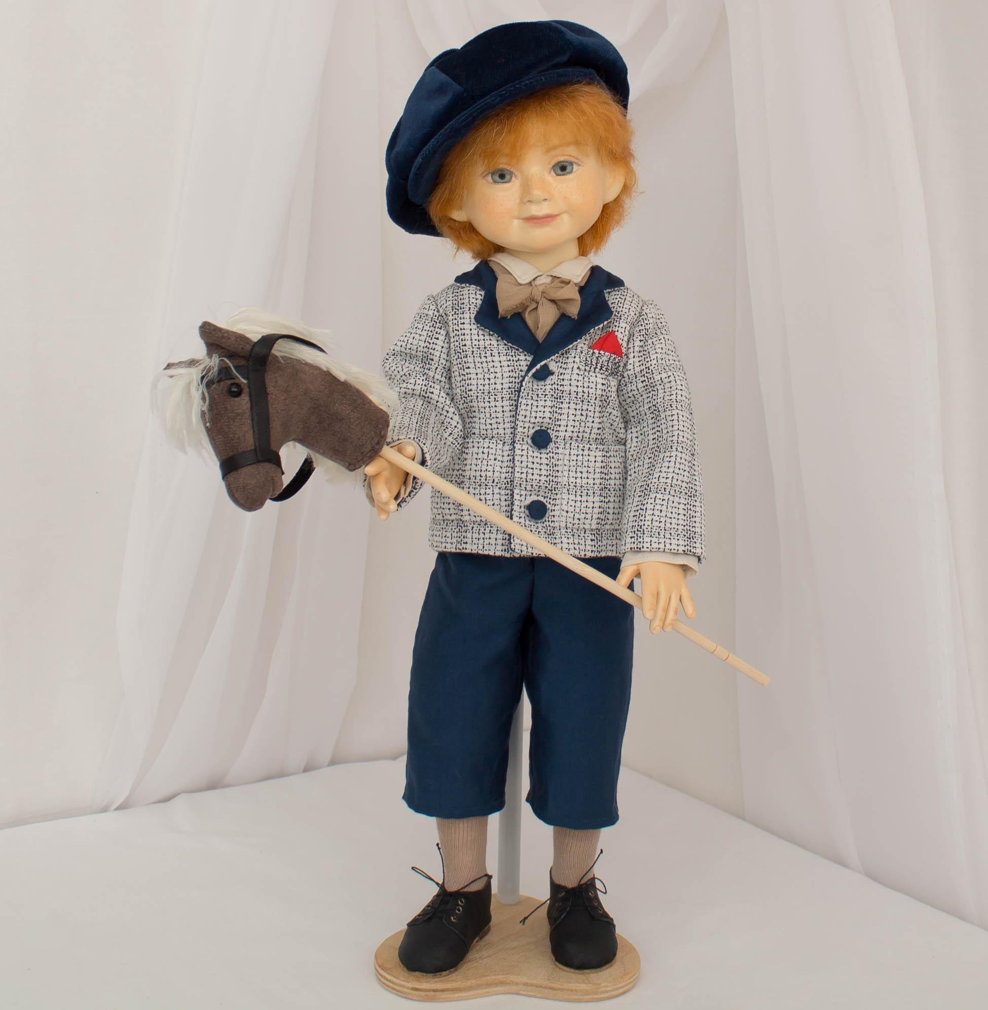 Коллекционная кукла мальчик
