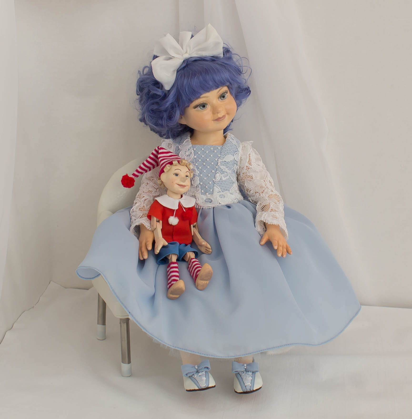 Мальвина ooak doll