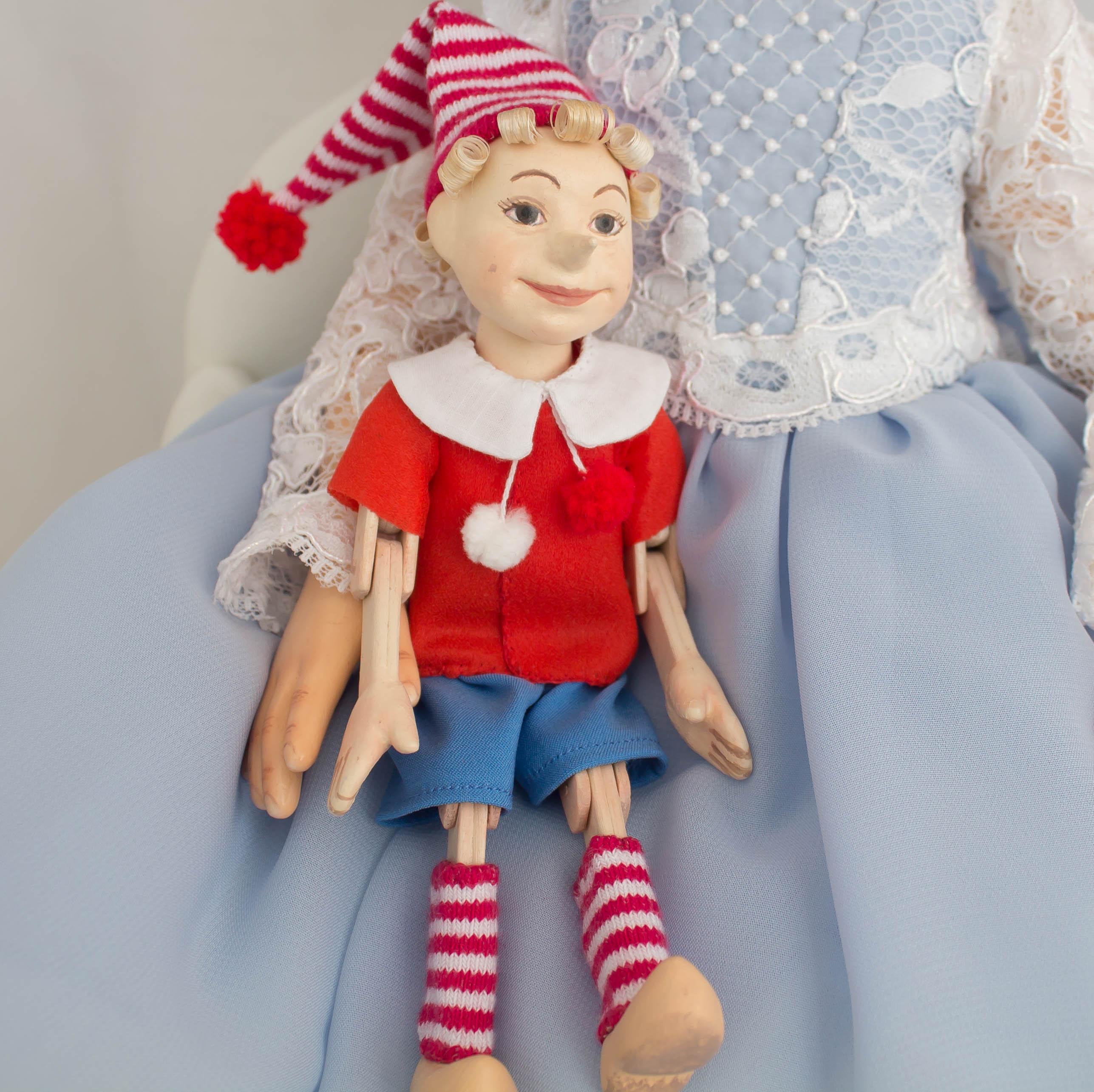 Буратино и Мальвина. Куклы
