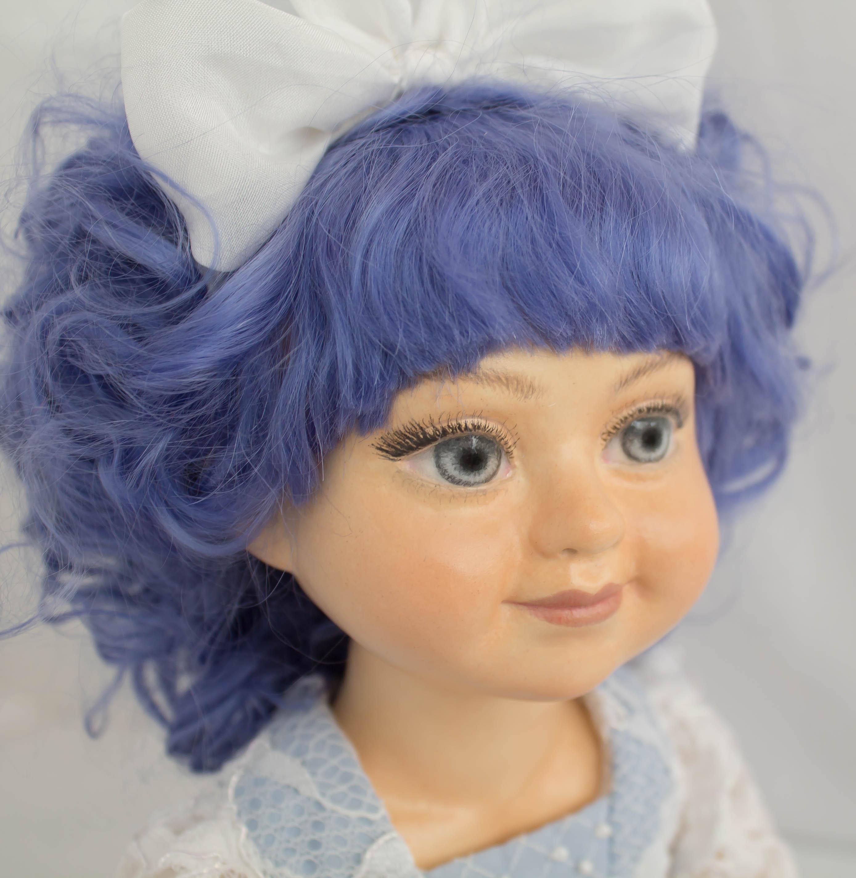 Мальвина. Художественная кукла
