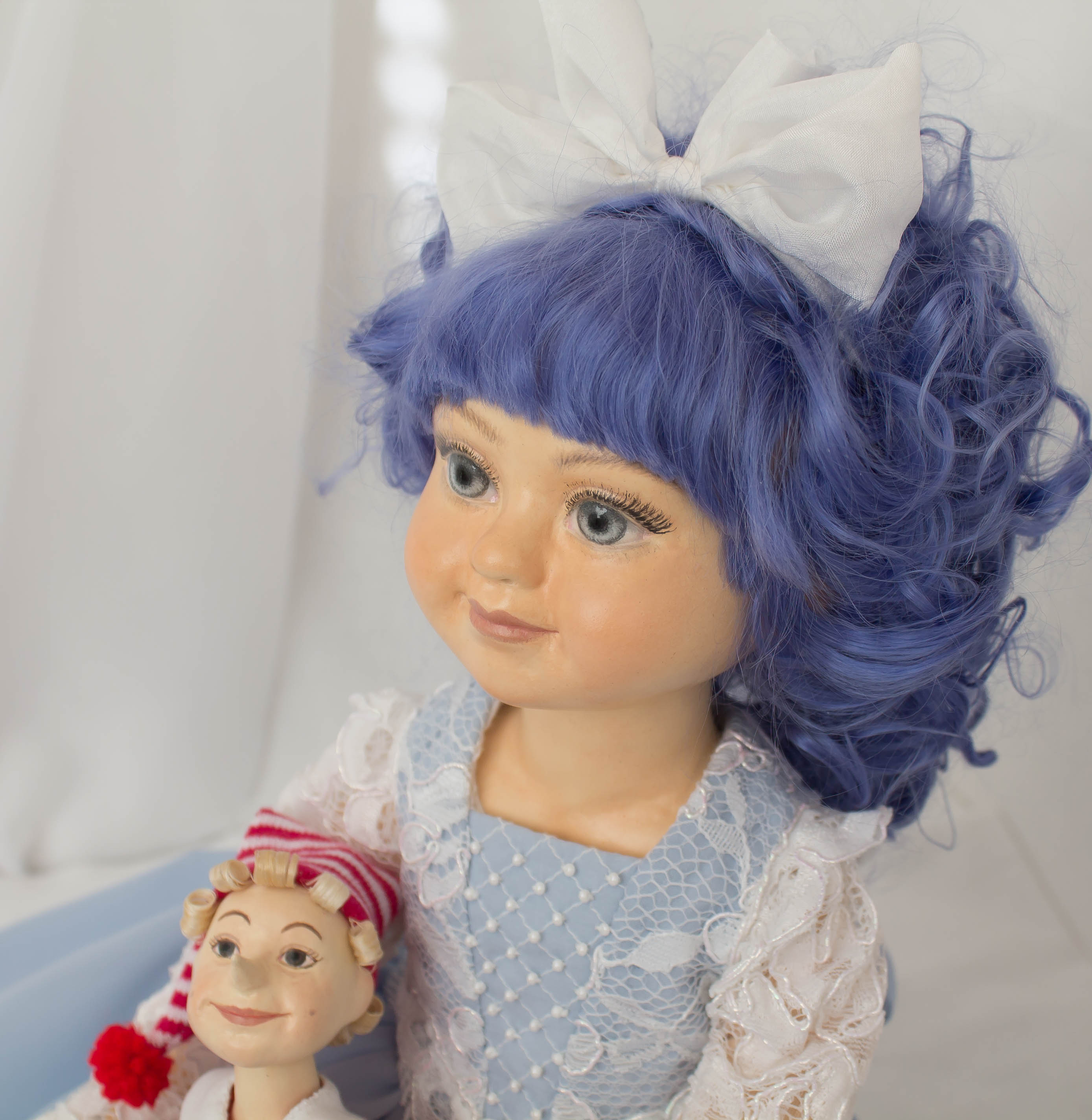 Мальвина. Авторская кукла