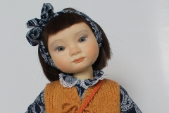 Sonya. Collectible doll.