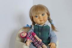 Sveta. Doll for the interior.
