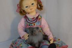 Тая. Коллекционная кукла ручной работы
