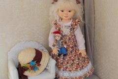 Виктория. Кукла ручной работы