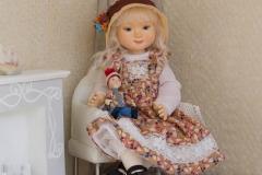 Авторская кукла для интерьера