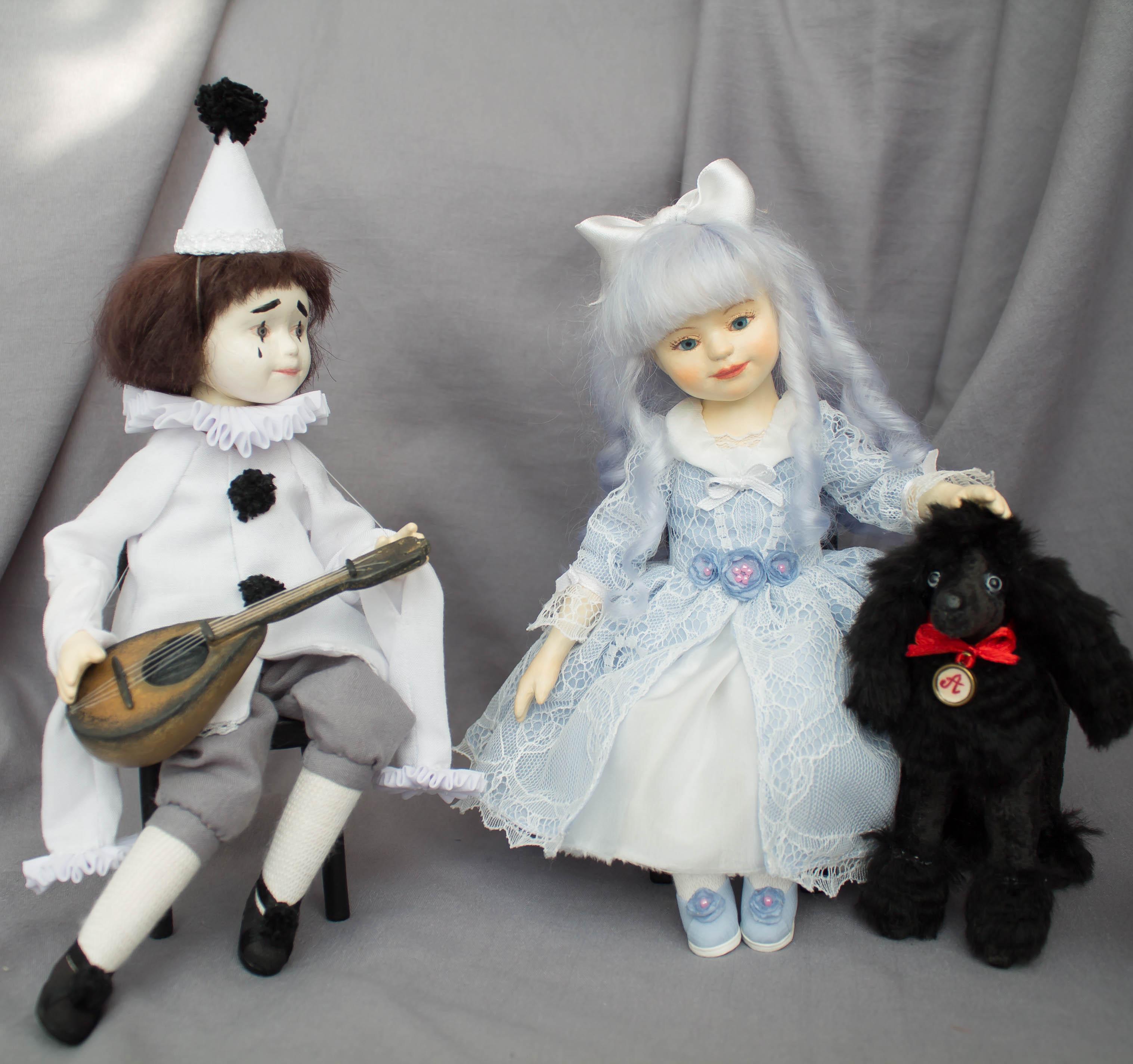 кукла из композита