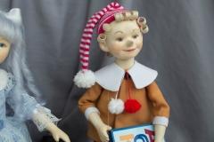 Буратино кукла ручной работы