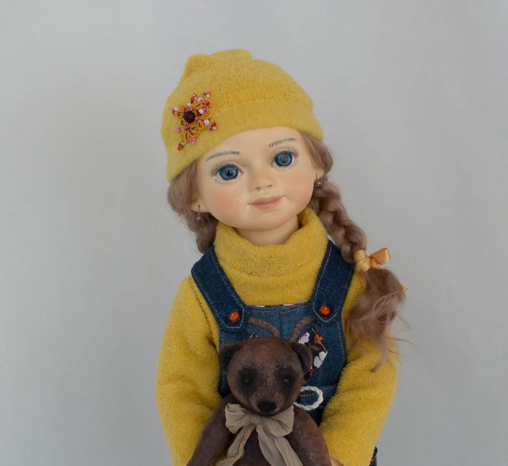 Яна. Кукла Елены Масякиной