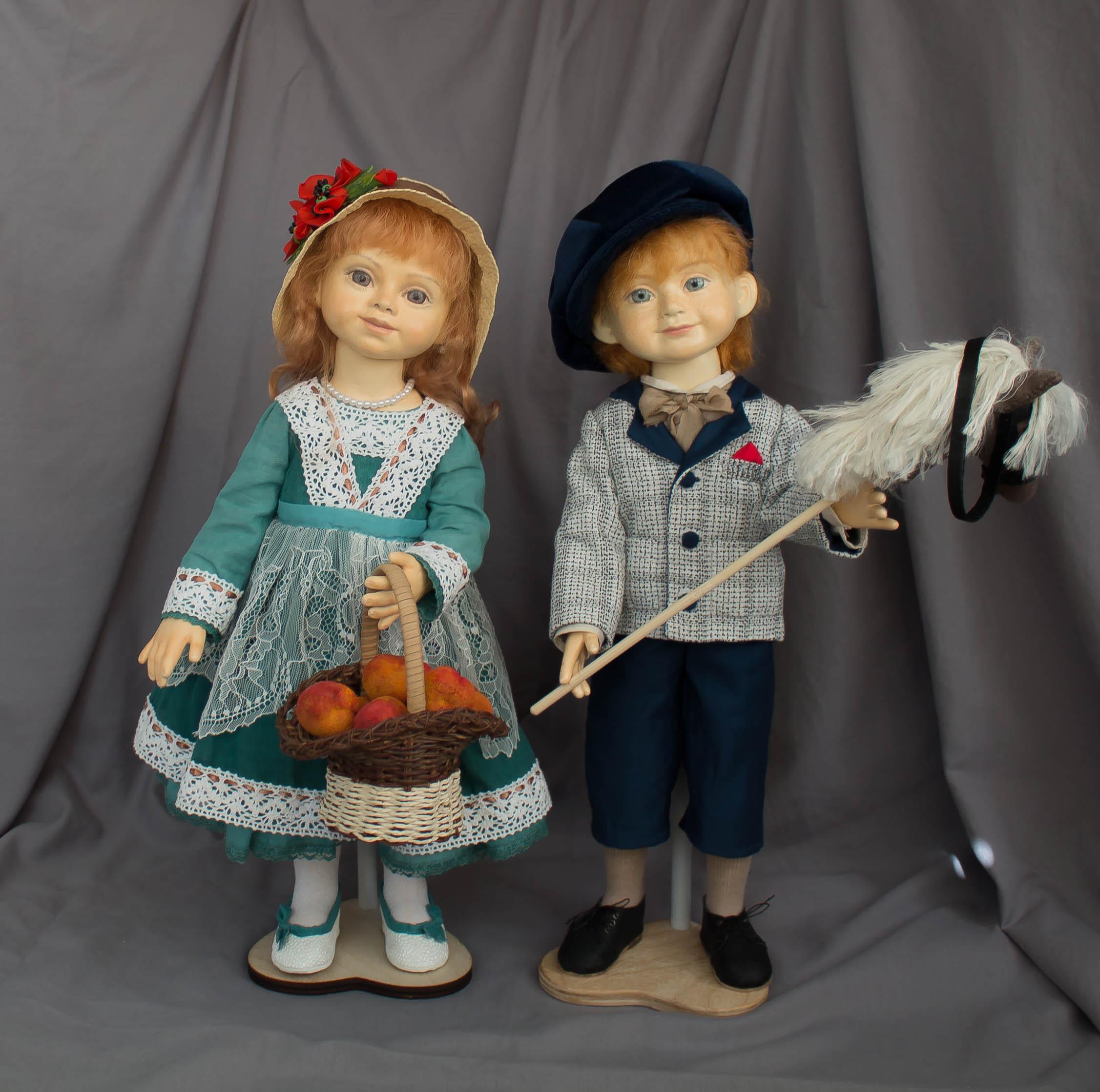 Фотосессия кукол для выставки