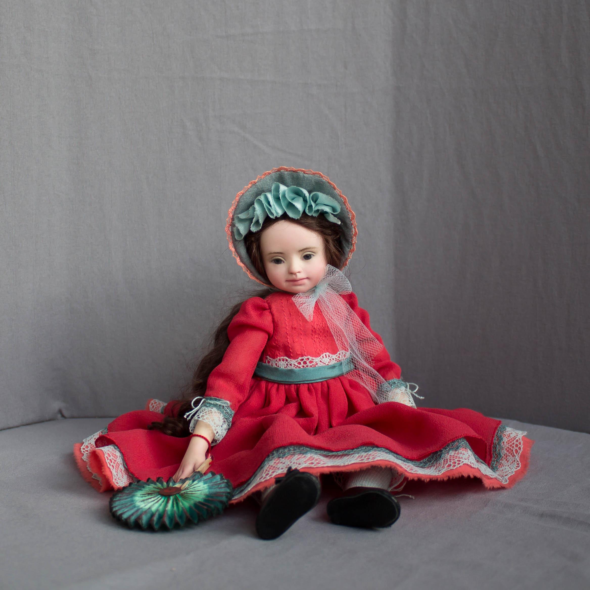 Роза. Кукла из living doll.
