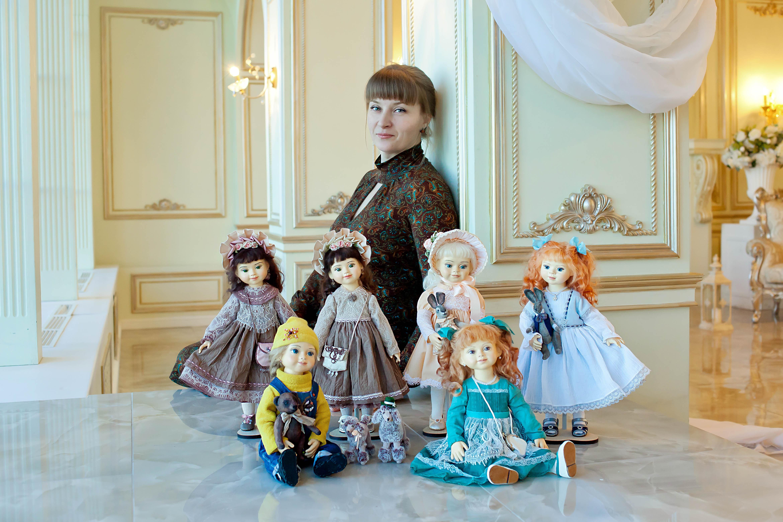 Интерьерные куклы. Студийная фотосессия.