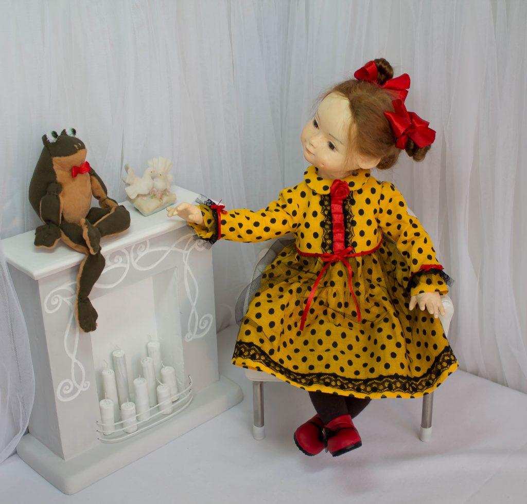 Кристина. Кукла ручной работы