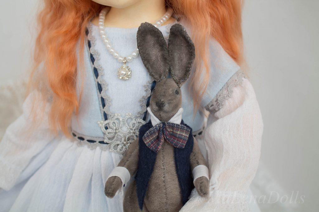 Алиса. Авторская кукла.
