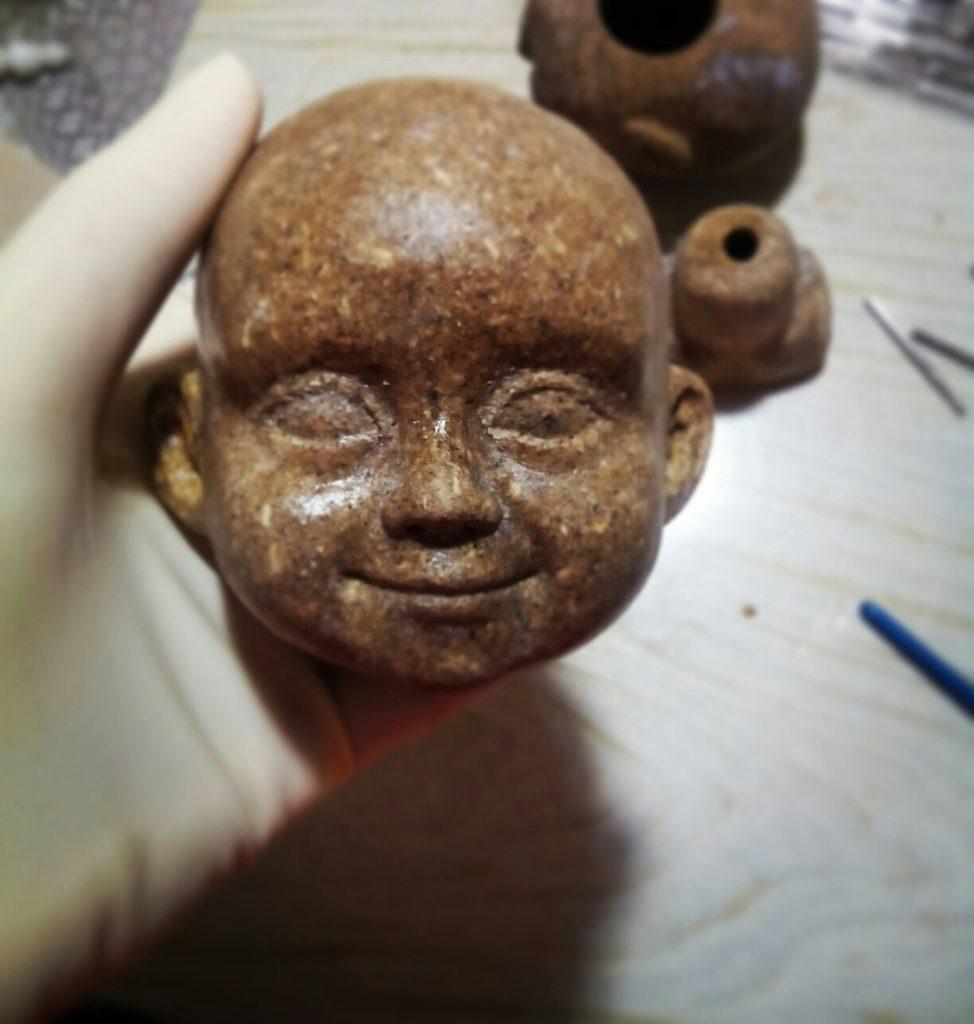 изготовление авторской куклы