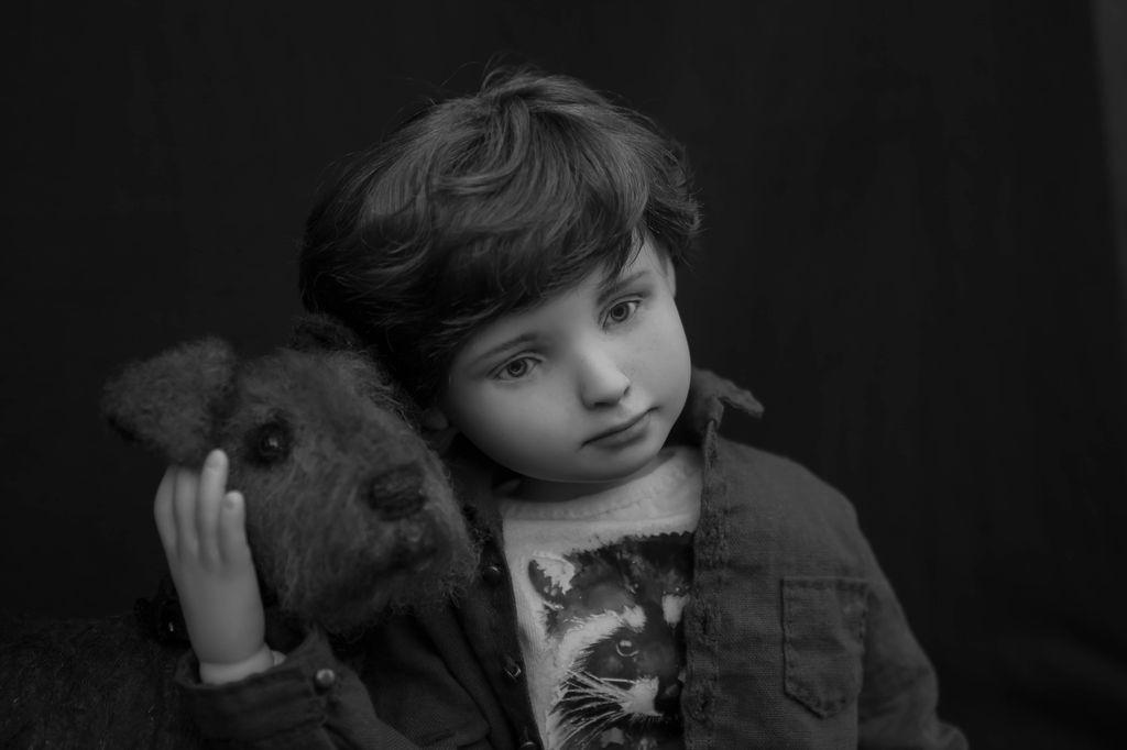 Черно/белое фото Тимофея
